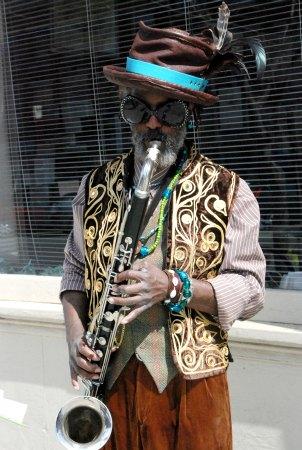 Toussaint St Negritude-Street Corner